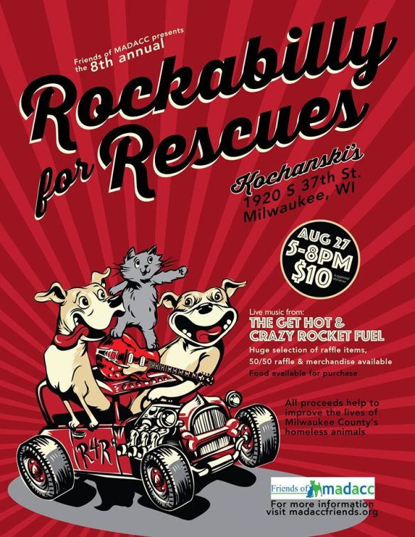 Rockabilly for Rescues